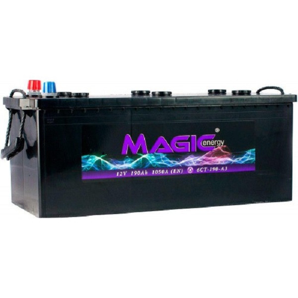 Автомобильный аккумулятор Magic Energy 190 Ah/12V Euro (3) (MGT190-M00)