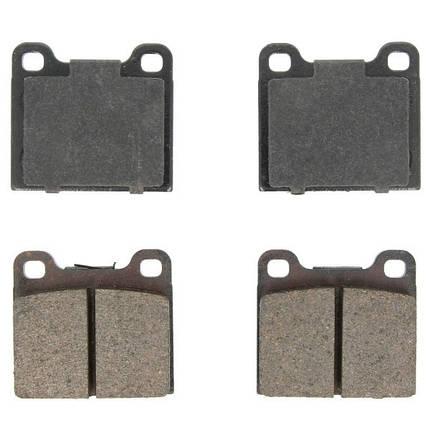 Тормозные колодки Bosch дисковые задние VOLVO S70/V70/850/940-960 -02 0986466302, фото 2