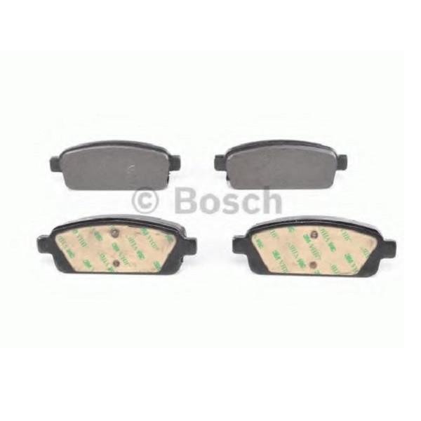 """Тормозные колодки Bosch дисковые задние CHEVROLET/OPEL Cruze/Orlando/Astra J """"R """"09 0986494435"""