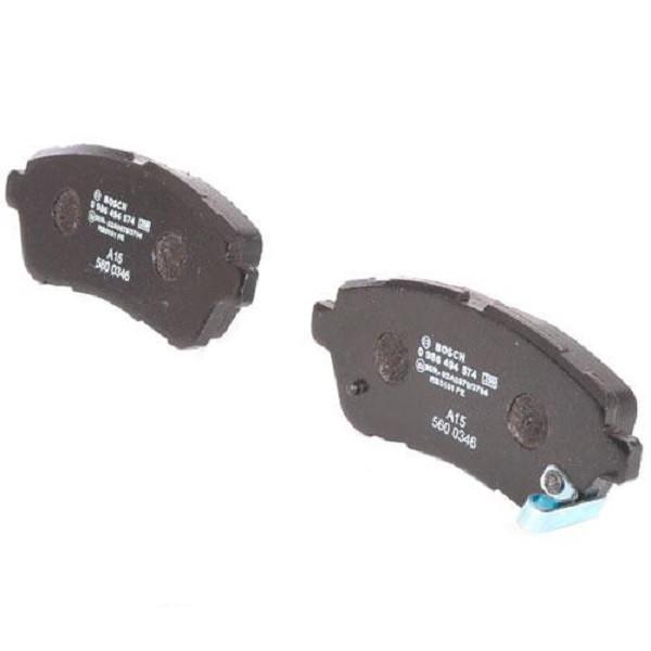 Тормозные колодки Bosch дисковые передние FORD/MAZDA/SUZUKI Fiesta/2/Justy/Swift ''F 0986494574