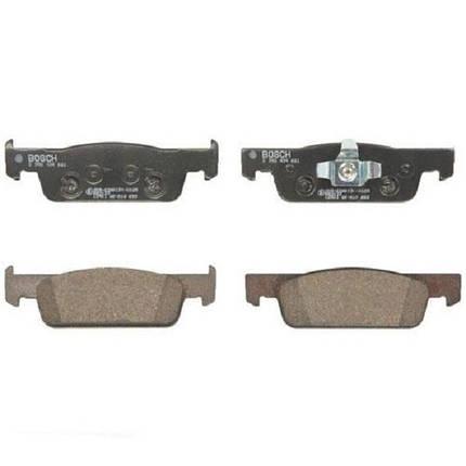 Тормозные колодки Bosch дисковые передние RENAULT Logan ''F ''12 0986494661, фото 2