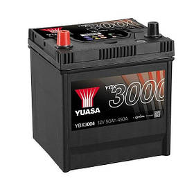 Автомобильный аккумулятор Yuasa 50 Ah/12V SMF Battery Japan (1) (YBX3004)