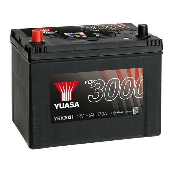 Автомобільний акумулятор Yuasa 70 Ah/12V SMF Battery Japan (1) (YBX3031)