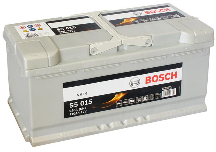 Автомобильный аккумулятор 0092S50150 S5  SILVER  110 А*ч  -/+  920A