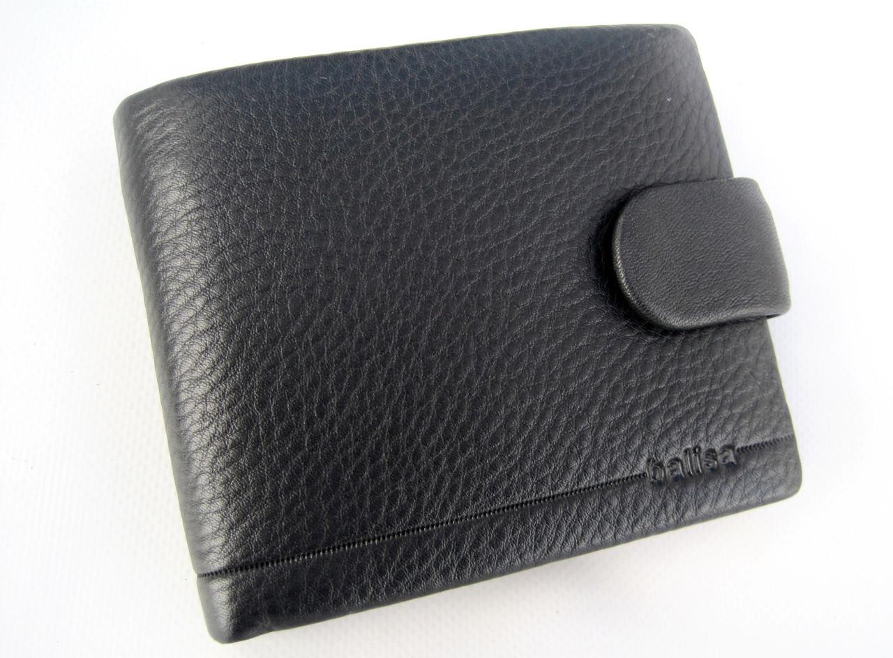 Мужское кожаное портмоне Balisa PY-F005-86 black Кошелек balisa оптом, портмоне balisa оптом