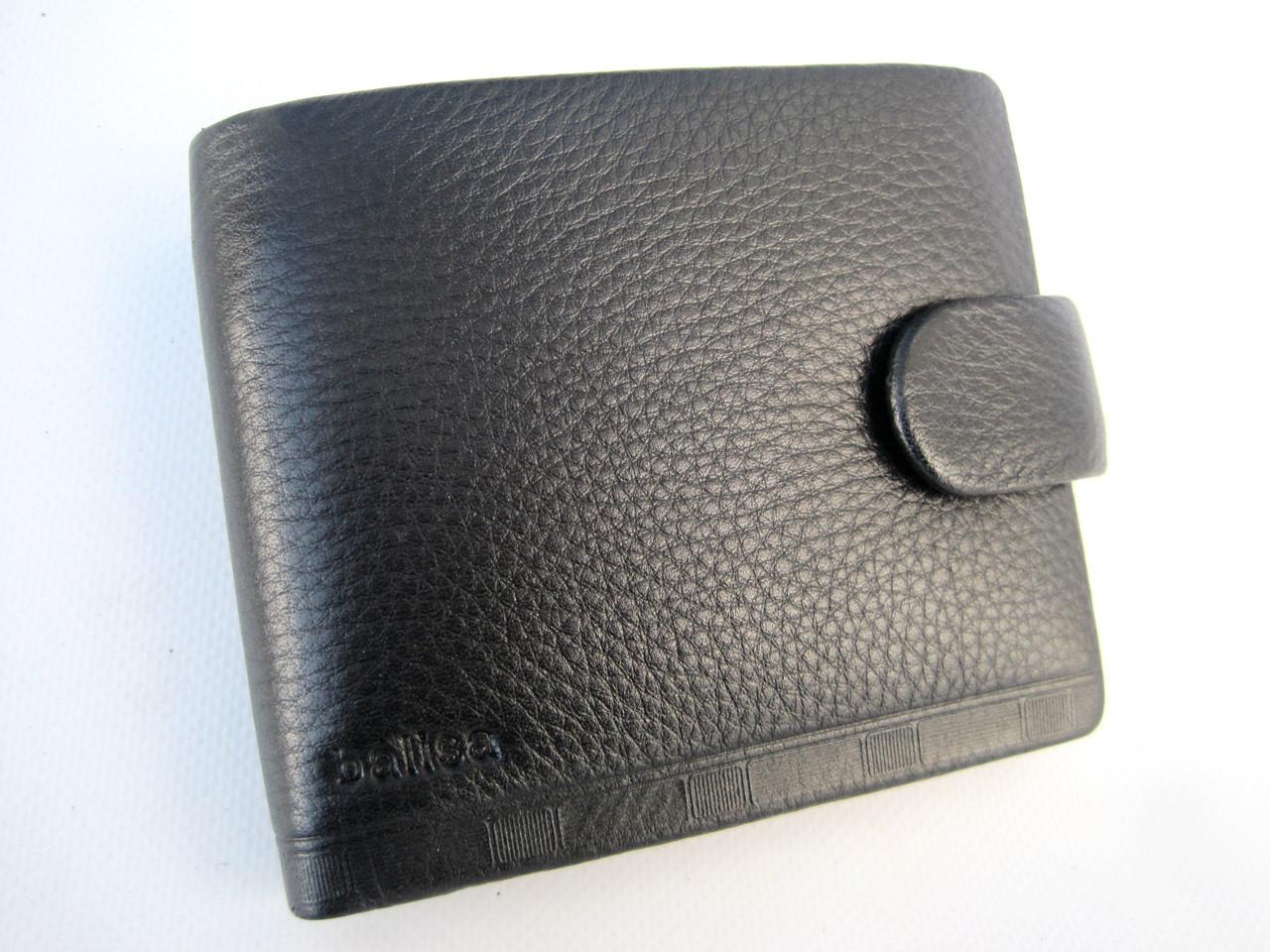 Чоловіче шкіряне портмоне Balisa PY-F005-87 black Гаманець balisa оптом, портмоне balisa оптом