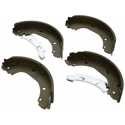 Тормозные колодки Bosch барабанные задние CITROEN Jumper-04/FIAT Ducato -06/PEUGEOT 0986487701, фото 2