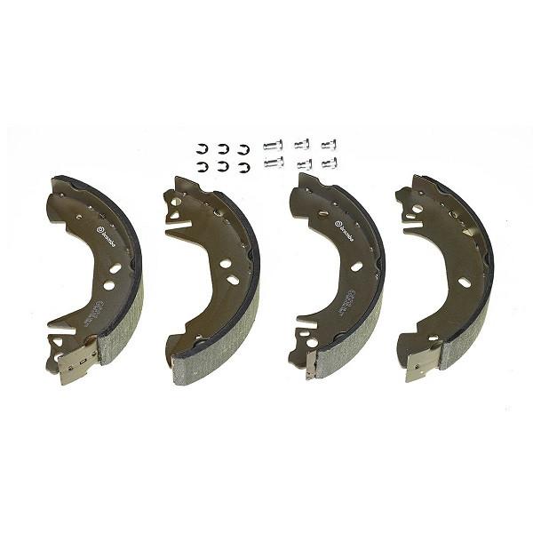 Тормозные колодки Bosch барабанные задние MITSUBISHI Challenger/L400/Montero/Montero 0986487719