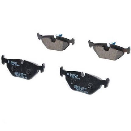 Тормозные колодки Bosch дисковые задние BMW 5 -04 0986494009, фото 2