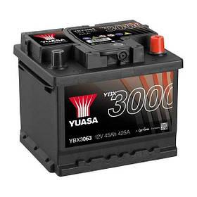 Автомобильный аккумулятор Yuasa 45 Ah/12V SMF Battery (0) (YBX3063)