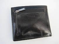 Чоловіче шкіряне портмоне VE-025-10 black шкіряне портмоне і шкіряні гаманці оптом, фото 2