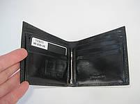Чоловіче шкіряне портмоне VE-025-10 black шкіряне портмоне і шкіряні гаманці оптом, фото 4