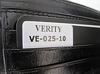 Чоловіче шкіряне портмоне VE-025-10 black шкіряне портмоне і шкіряні гаманці оптом, фото 5