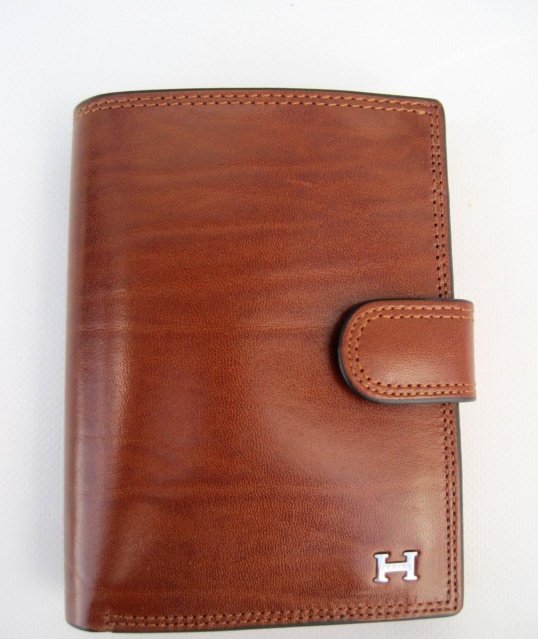 Мужское кожаное портмоне VERITY VE-025-22 brown кожаное портмоне и кожаные кошельки оптом