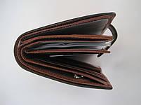 Мужское кожаное портмоне VERITY VE-025-22 brown кожаное портмоне и кожаные кошельки оптом, фото 3