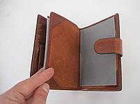 Мужское кожаное портмоне VERITY VE-025-22 brown кожаное портмоне и кожаные кошельки оптом, фото 5