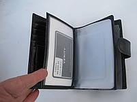 Чоловіче шкіряне портмоне VERITY VE-025-22 black шкіряне портмоне і шкіряні гаманці оптом, фото 6