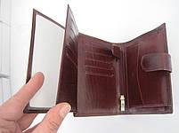 Мужское кожаное портмоне VERITY VE-025-21 winered кожаное портмоне и кожаные кошельки оптом, фото 2