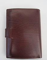 Мужское кожаное портмоне VERITY VE-025-21 winered кожаное портмоне и кожаные кошельки оптом, фото 4