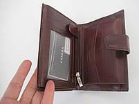 Мужское кожаное портмоне VERITY VE-025-21 winered кожаное портмоне и кожаные кошельки оптом, фото 5