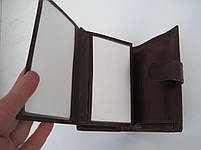 Мужское кожаное портмоне VERITY VE-025-21 winered кожаное портмоне и кожаные кошельки оптом, фото 6