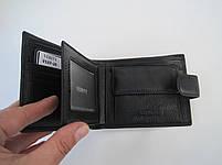 Чоловіче шкіряне портмоне VERITY V137-25 black шкіряне портмоне і шкіряні гаманці оптом, фото 5