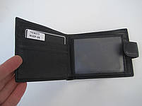 Чоловіче шкіряне портмоне VERITY V137-25 black шкіряне портмоне і шкіряні гаманці оптом, фото 7