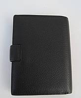 Чоловіче шкіряне портмоне VERITY V139-22 black шкіряне портмоне і шкіряні гаманці оптом, фото 2