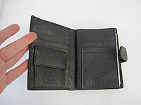 Чоловіче шкіряне портмоне VERITY V139-22 black шкіряне портмоне і шкіряні гаманці оптом, фото 5