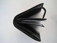 Чоловіче шкіряне портмоне VERITY V139-22 black шкіряне портмоне і шкіряні гаманці оптом, фото 6