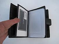 Чоловіче шкіряне портмоне VERITY V139-22 black шкіряне портмоне і шкіряні гаманці оптом, фото 7