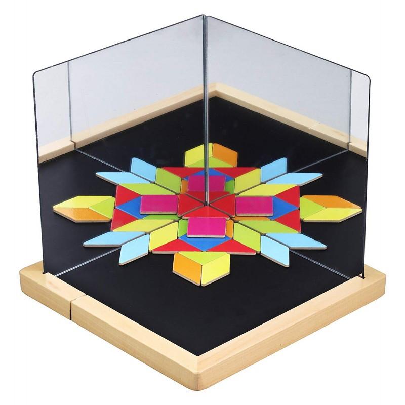 Развивающая магнитная игра Оптические иллюзии Classic World