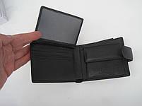 Чоловіче шкіряне портмоне VERITY V122-24 black шкіряне портмоне і шкіряні гаманці оптом, фото 4