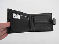 Чоловіче шкіряне портмоне VERITY V122-24 black шкіряне портмоне і шкіряні гаманці оптом, фото 5