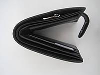 Чоловіче шкіряне портмоне VERITY V122-24 black шкіряне портмоне і шкіряні гаманці оптом, фото 6
