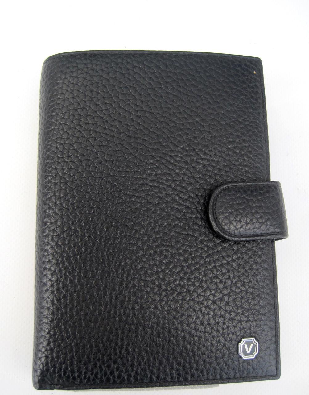 Мужское кожаное портмоне VERITY V122-14 black кожаное портмоне и кожаные кошельки оптом