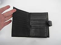 Мужское кожаное портмоне VERITY V122-14 black кожаное портмоне и кожаные кошельки оптом, фото 3