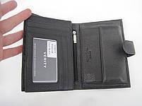 Мужское кожаное портмоне VERITY V122-14 black кожаное портмоне и кожаные кошельки оптом, фото 5