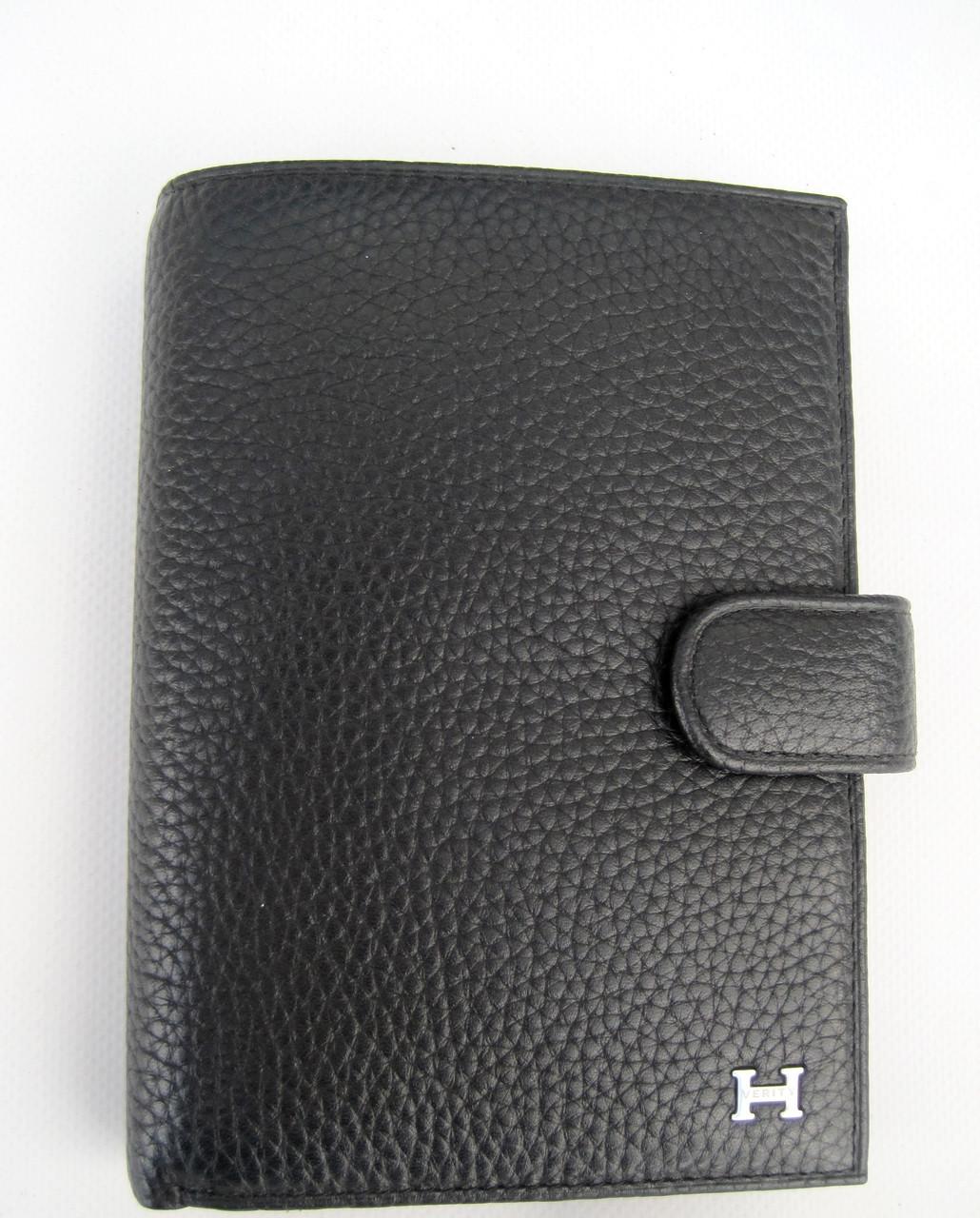 Мужское кожаное портмоне VERITY V123-14 black кожаное портмоне и кожаные кошельки оптом