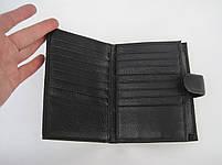 Мужское кожаное портмоне VERITY V123-14 black кожаное портмоне и кожаные кошельки оптом, фото 3