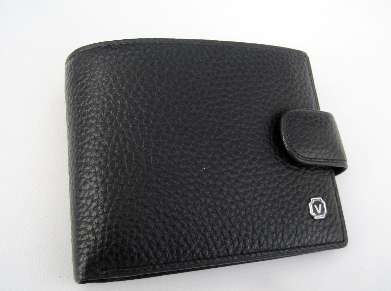 Мужское кожаное портмоне VERITY V122-16 black кожаное портмоне и кожаные кошельки оптом