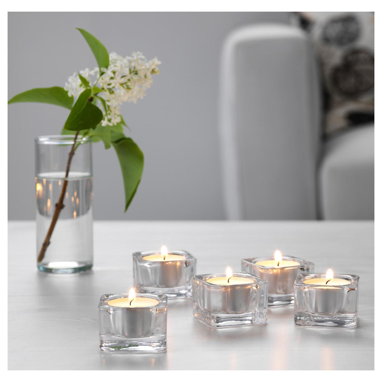 Набір свічників для чайних свічок GLASIG