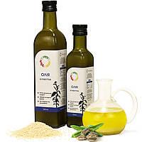 Кунжутное масло холодного отжима (сыродавленное) нерафинированное