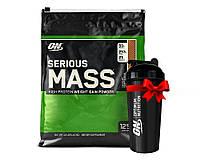 Гейнер USA ORIGINAL!!! Optimum Nutrition Serious Mass 5455 г шоколад