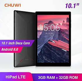 Планшет Chuwi HiPad LTE 3/32gb 10.1'' Helio X27 , 7000 мАч новые в наличии