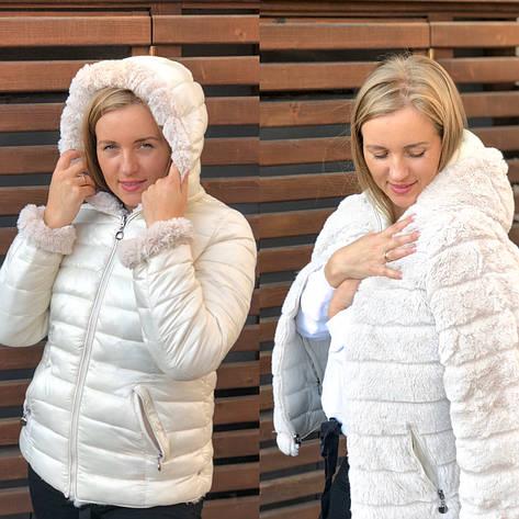 Куртка женская двусторонняя, фото 2