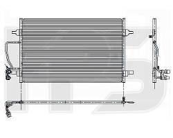 Радиатор кондиционера Audi A8 (AVA) FP 12 K187