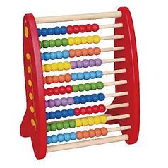 Развивающая игрушка Viga Toys Счеты Разноцветный (59718)