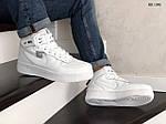 Мужские зимние кроссовки Nike Air Force 1 07 Mid LV8 (белые), фото 4