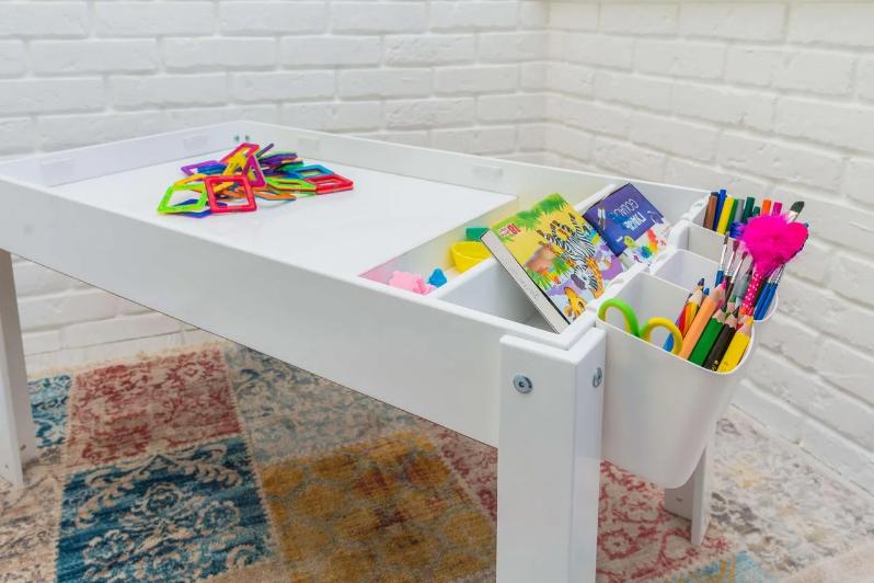 Детский Световой стол-песочница для песочной анимации Noofik ЯСЕНЬ + подарок